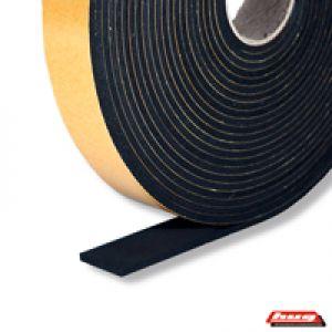 online shop zellkautschukband 25x10 mm schwarz einseitig selbstklebend fugendichtband. Black Bedroom Furniture Sets. Home Design Ideas
