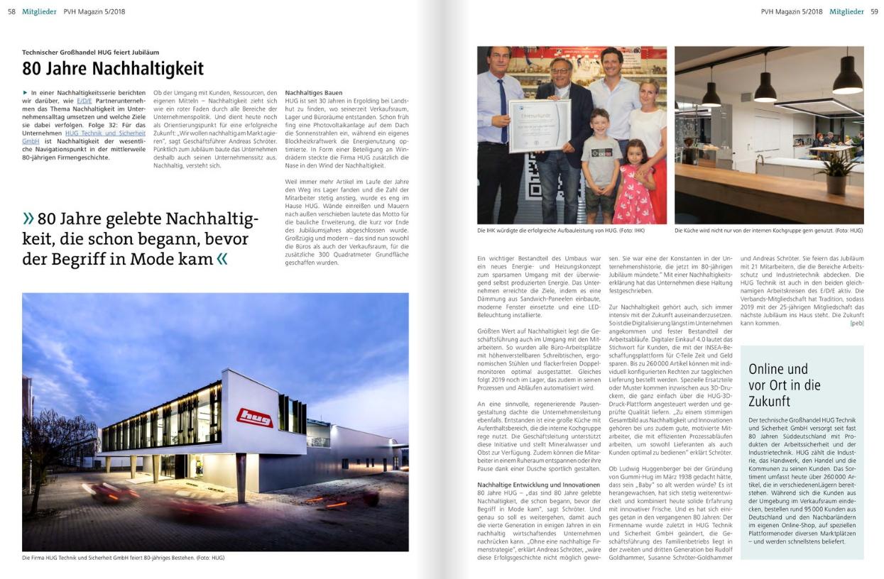 Hug Ergolding Industrietechnik Arbeitsschutz Hug Technik Und