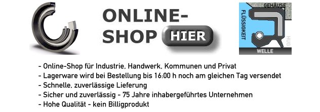 Wellendichtring Onlineshop