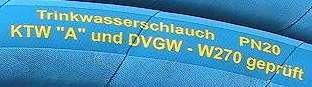 TRINKWASSER-SCHLAUCH