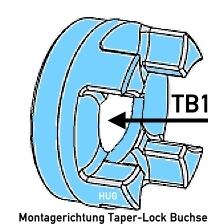 ROTEX KUPPLUNG TYP TB1