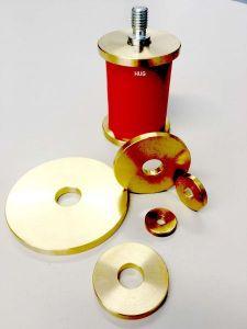 EFFBE Elastomer Federn DIN 9835 Typ U90 AD 25 mm L 25 mm