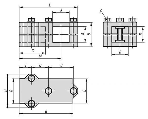 0,5 mtr. B/&T Metall Aluminium Winkel 40 x 30 x 3 mm aus AlMgSi0,5 F22 schweissbar eloxierf/ähig L/änge ca 500 mm +0//- 3 mm