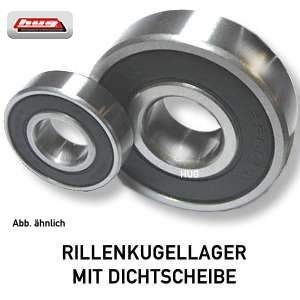 Kugellager 6301 DDU NSK 12x37x12 mm