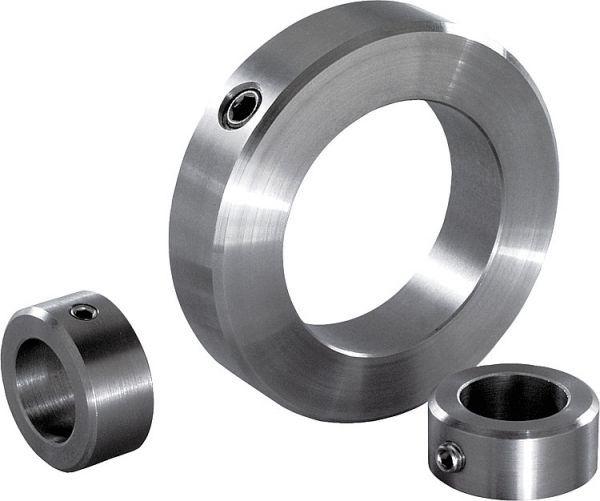 Stellring für 8mm Welle Achse DIN 705 Stahl Form A