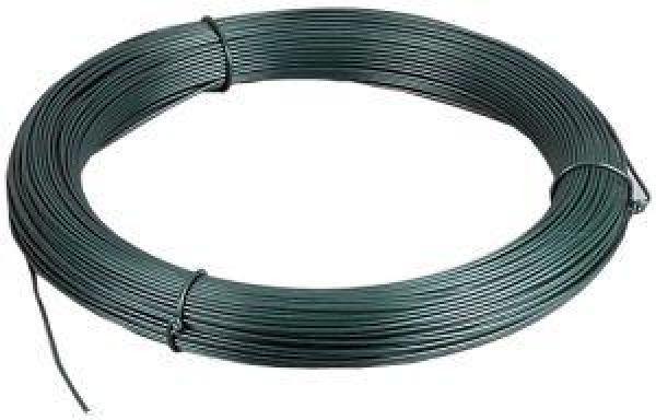 Online Shop - Binde-Draht kunststoffummantelt 1,4mm grün Ring mit ...