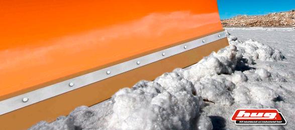 Schürfleiste PUR Polyurethan PU Schneeschild Schneeräumleiste 2000 x 120 x 20 mm